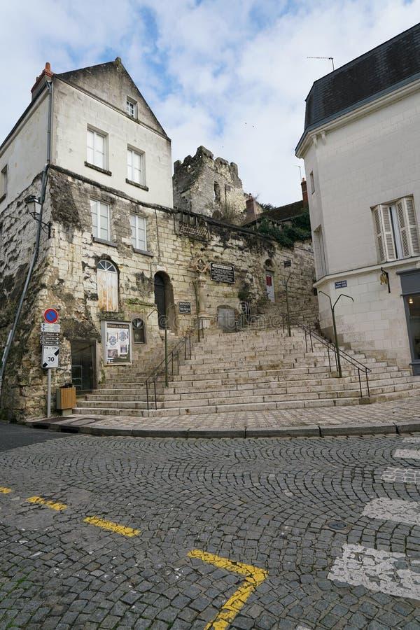 Aquedotto in Arcueil-Cachan, Parigi, di mattina immagini stock libere da diritti