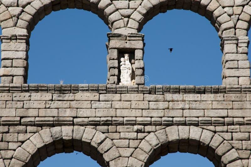 Aquedotto di Segovia - la Spagna immagine stock libera da diritti