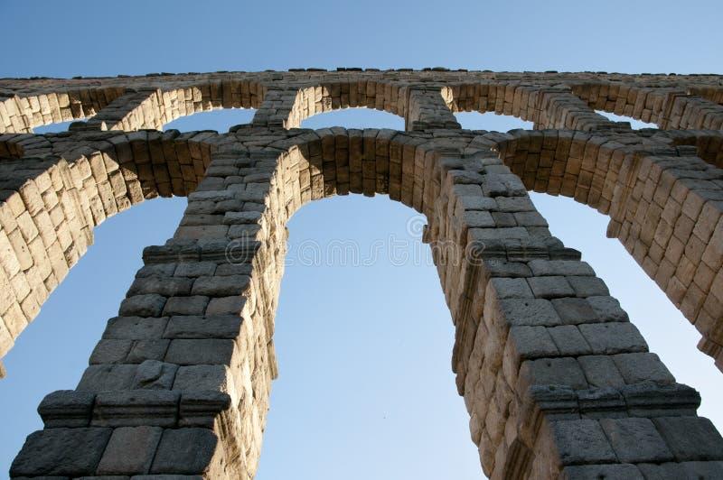 Aquedotto di Segovia - la Spagna immagini stock libere da diritti