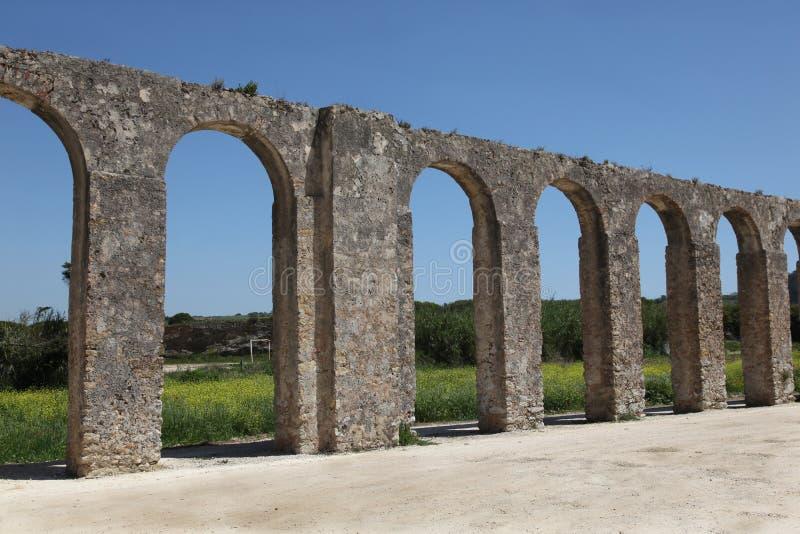 Aqueduc d'Obidos photos stock