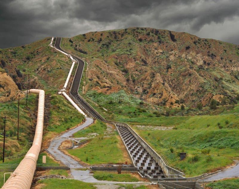 Aqueduc de la Californie photos libres de droits