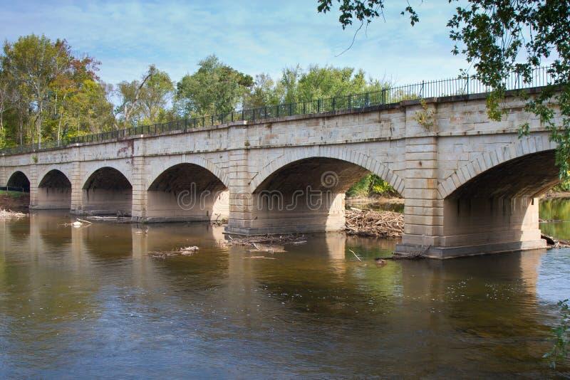Aqueduc de Monocacy images stock