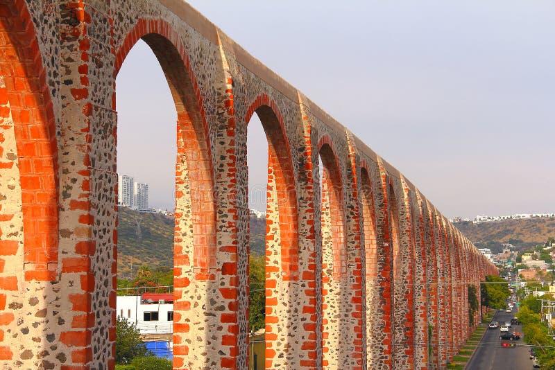 Aqueduc III de Queretaro photos stock