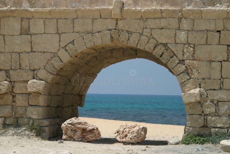 Download Aqueduct stock photo. Image of east, architecture, mediterranean - 116106