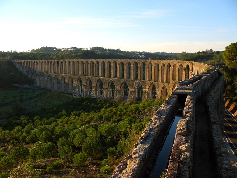 Aqueduct 2 royalty free stock image