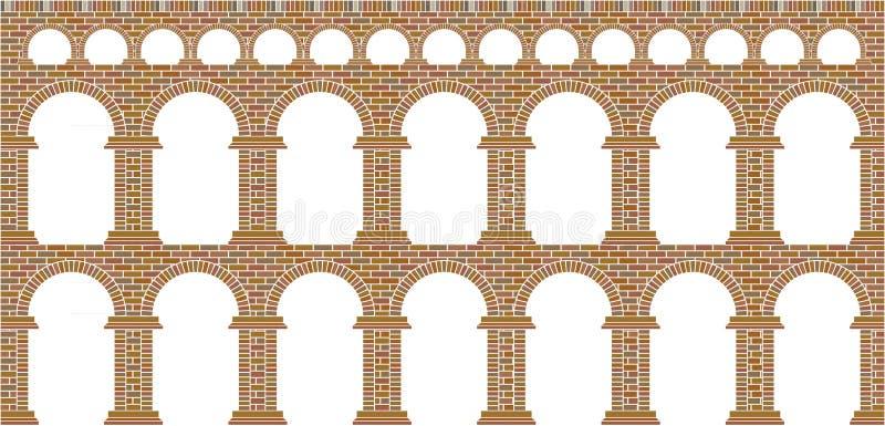 Aqueduct stock illustration