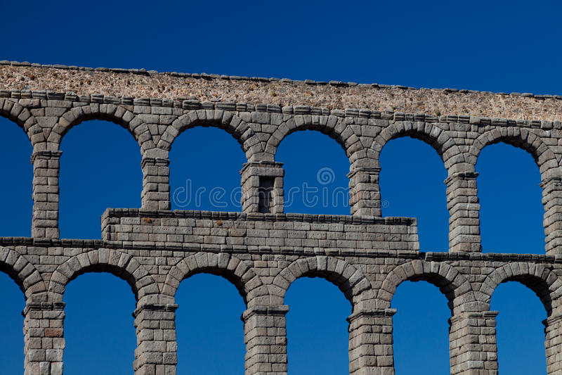 Download Aqueduct of Segovia stock photo. Image of antique, conduct - 19175558