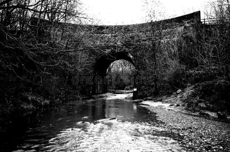 Aqueduct royalty free stock photos