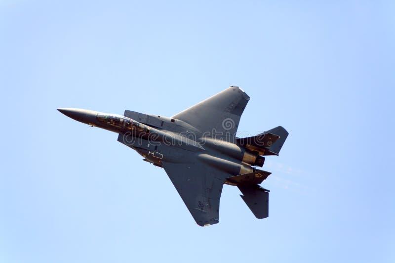 Aquila di colpo F-15 fotografie stock libere da diritti