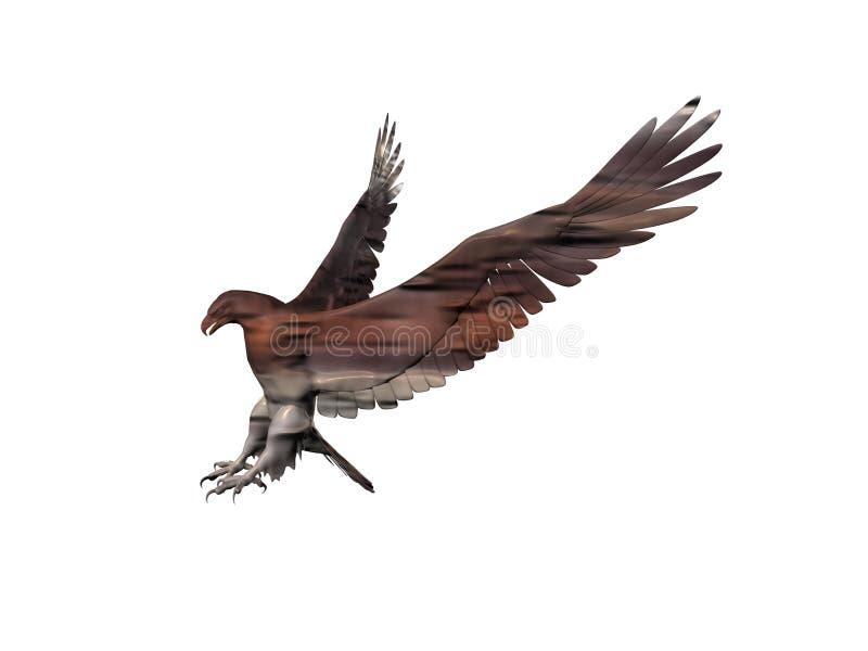 Aquila feroce anche royalty illustrazione gratis