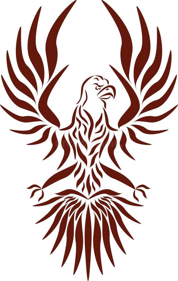 Aquila, vettore illustrazione vettoriale