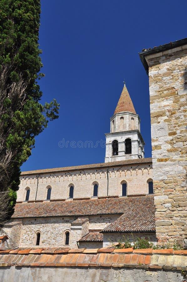 Aquileia, Италия мир volubilis unesco места Марокко списка наследия базилики стоковая фотография
