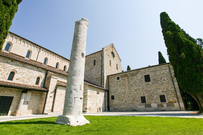 aquileia assunta базилика di maria santa стоковое фото