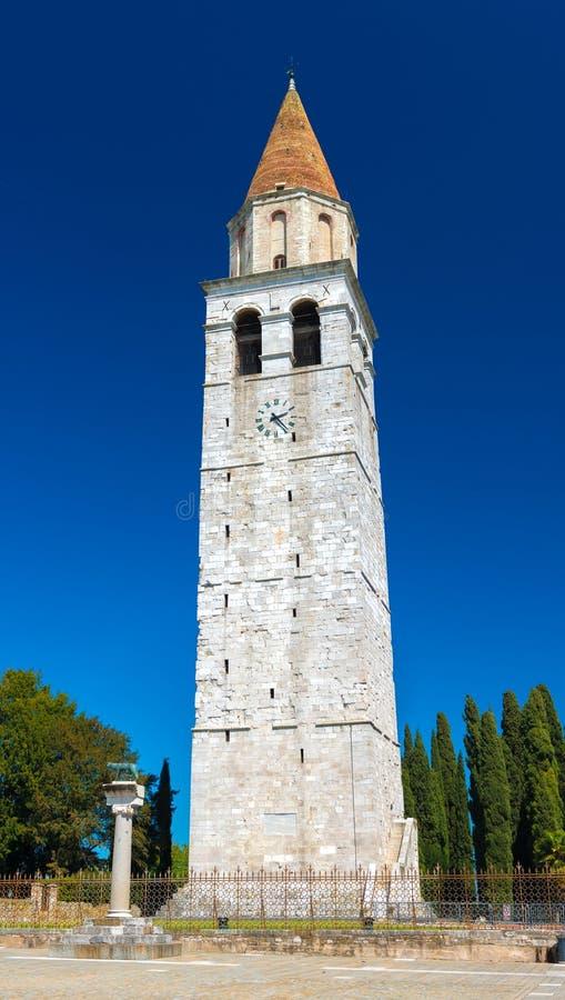 Aquileia, Itália: Cidade romana antiga de Aquileia foto de stock royalty free