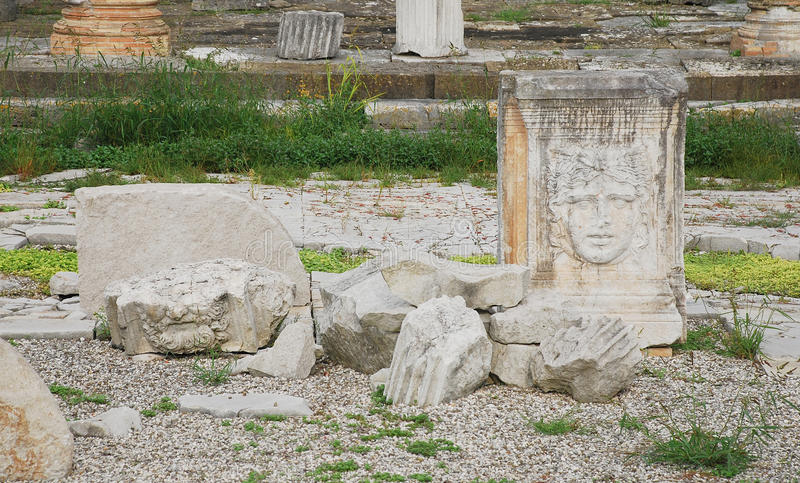 Aquileia Roman Forum royalty free stock photo