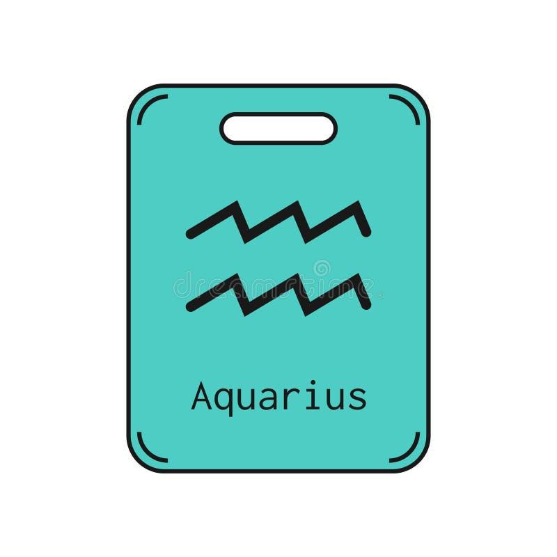 aquinas Σημάδι zodiac  Διανυσματικό αντικείμενο διανυσματική απεικόνιση