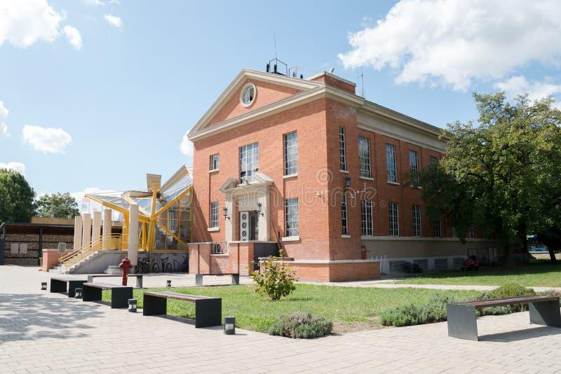 Aquincum-Museum stockfotografie