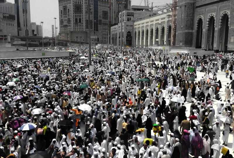 Arábia Saudita, emirado de árabe unido imagem de stock