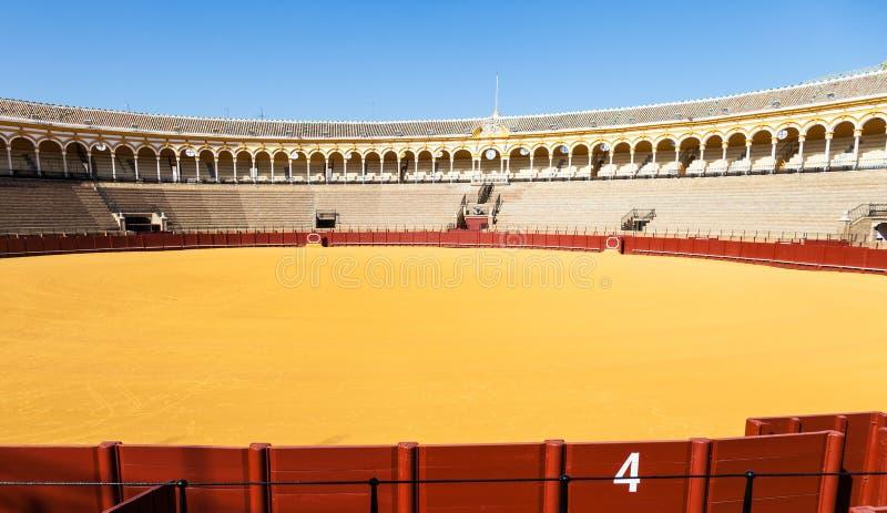 Arène à Séville image libre de droits