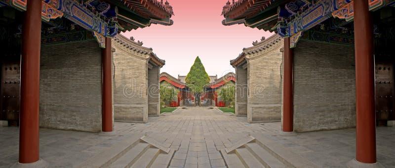 Arène 2 de combat de Chinois illustration libre de droits