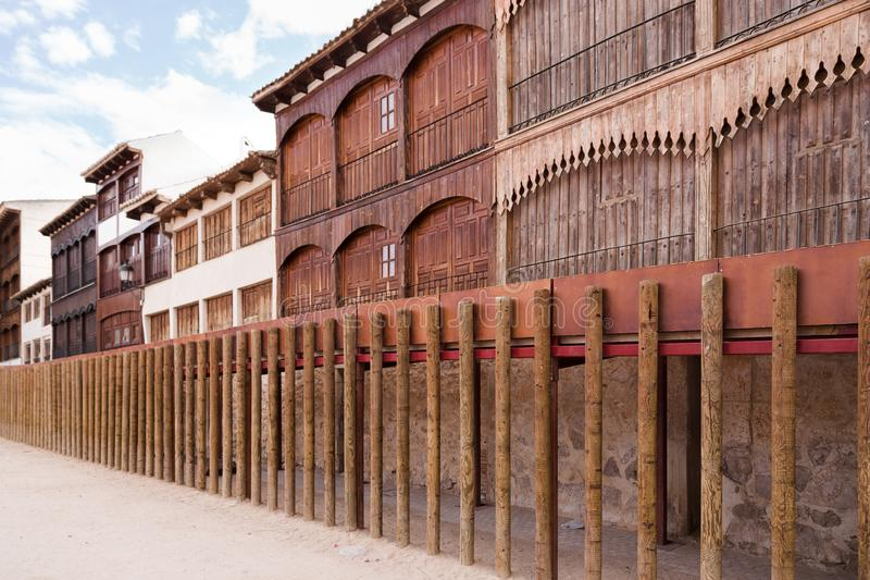 Arène antique dans Peñafiel, Espagne image stock