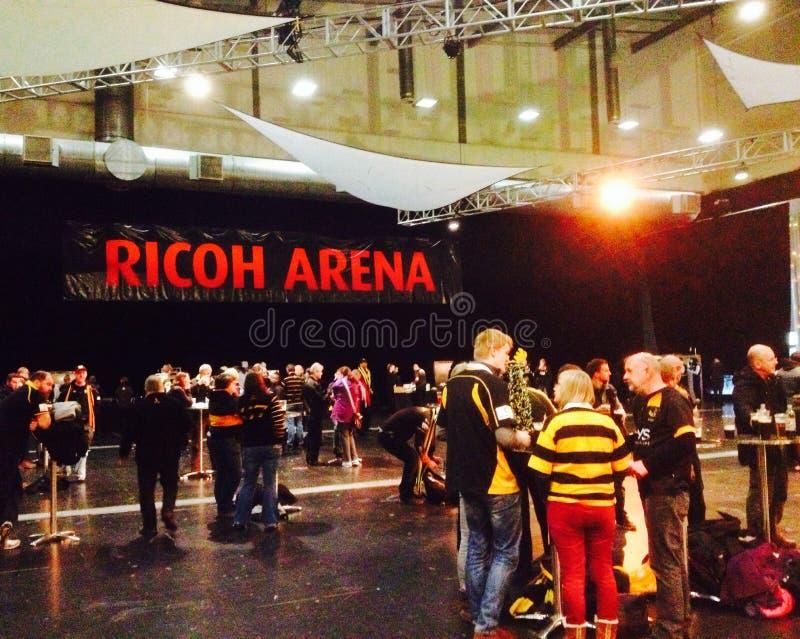 Arène Coventry de Ricoh photographie stock libre de droits