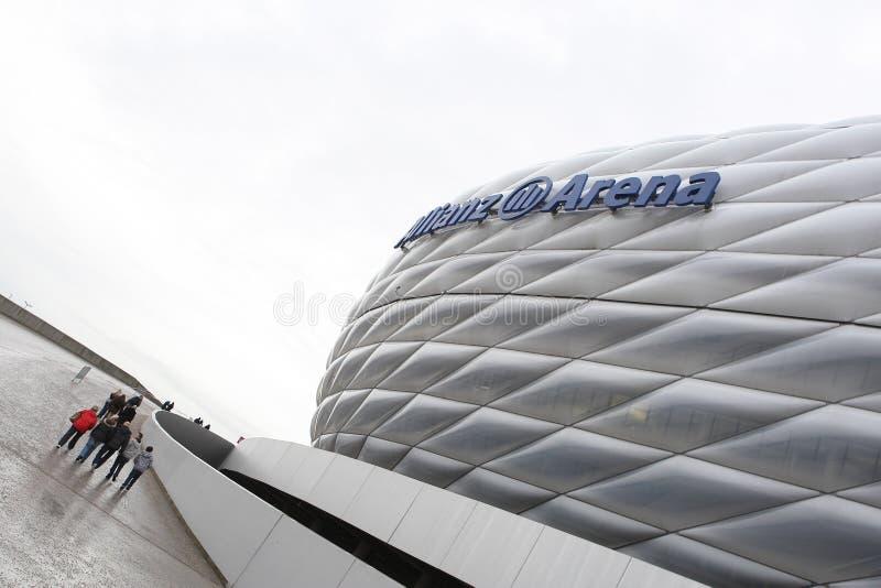 Arène d'Allianz photographie stock libre de droits