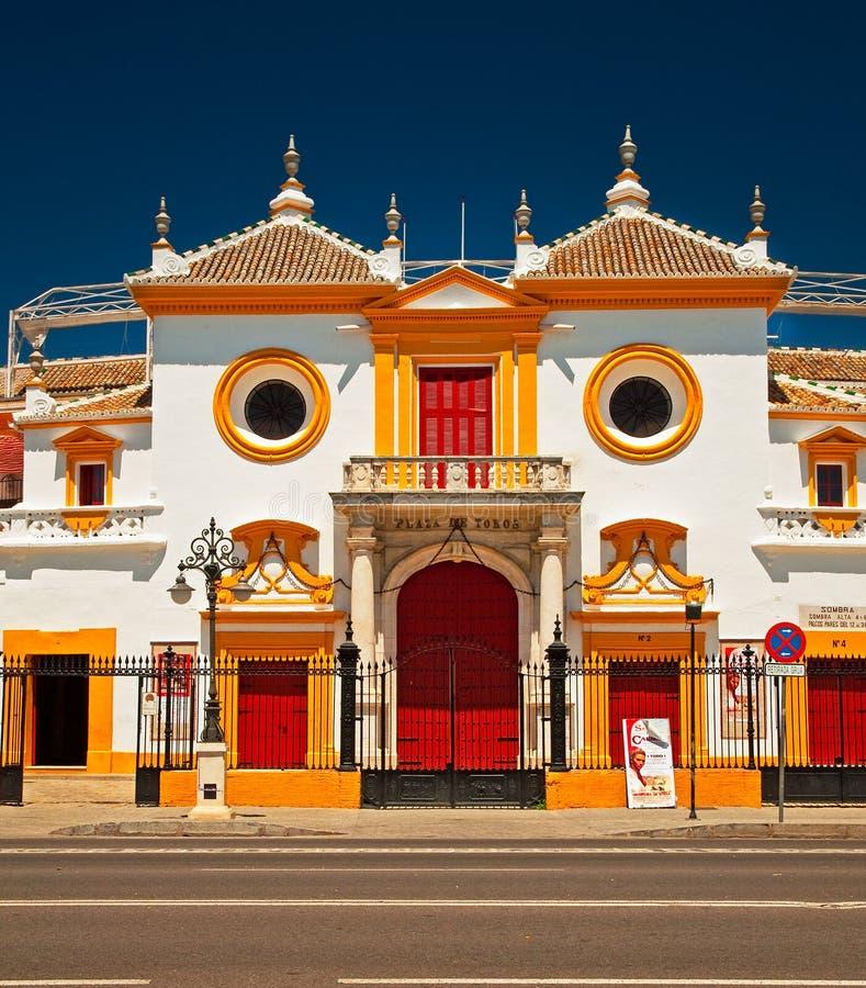 Arène de Bull de Séville photos libres de droits