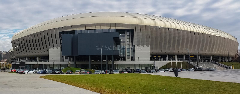 Arène de Cluj images stock