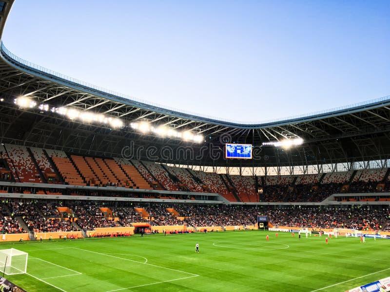 arène de la Mordovie de stade à la coupe du monde 2018 image libre de droits