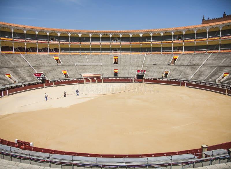 Arène de Las Ventas, Madrid photos stock