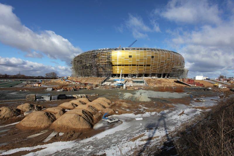 Arène de PGE, stade à Danzig, Pologne photographie stock libre de droits