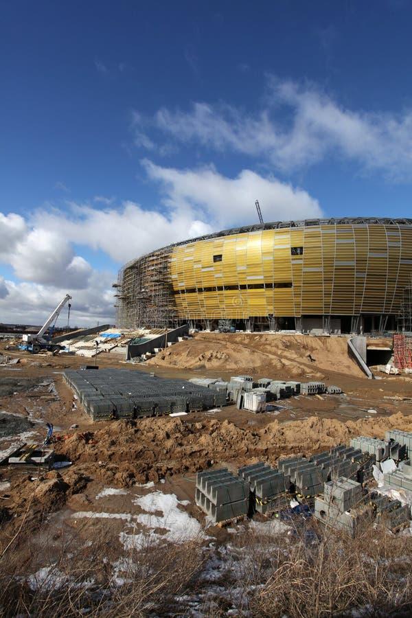 Arène de PGE, stade à Danzig, Pologne images stock