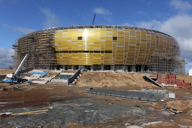 Arène de PGE, stade à Danzig, Pologne photos libres de droits