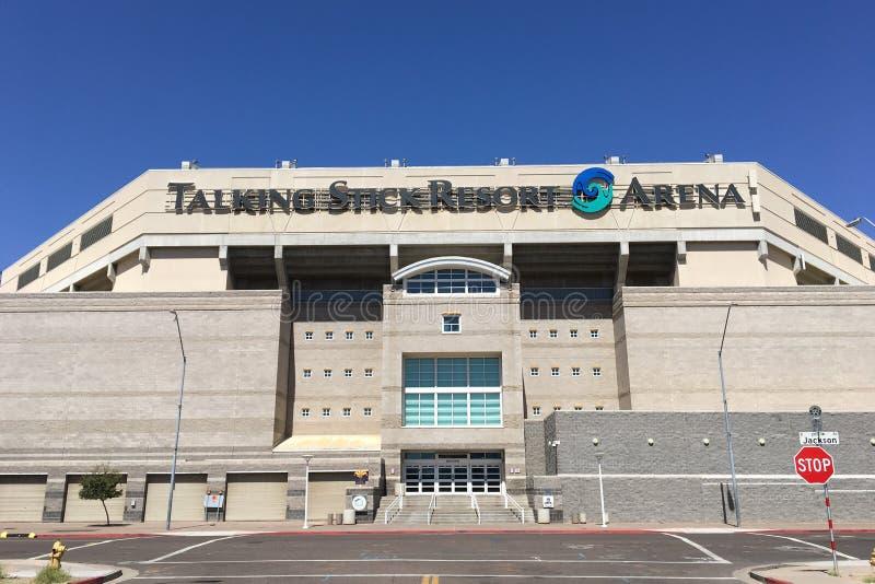 Arène parlante de station de vacances de bâton, Phoenix, AZ photographie stock libre de droits