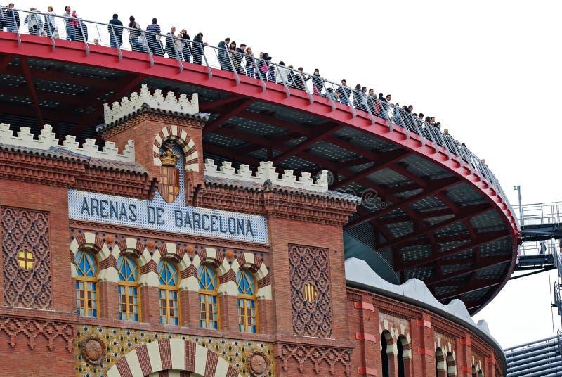 Arènes de Barcelone, Espagne image stock