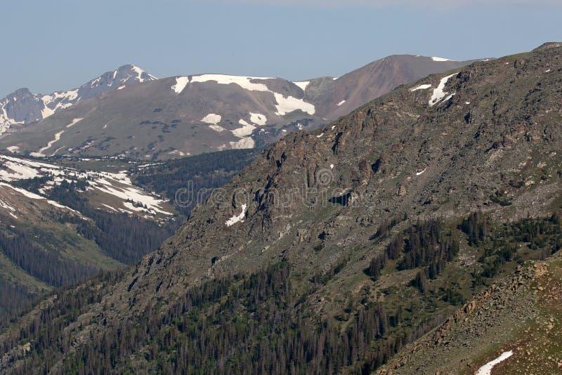 Arête alpine photos libres de droits