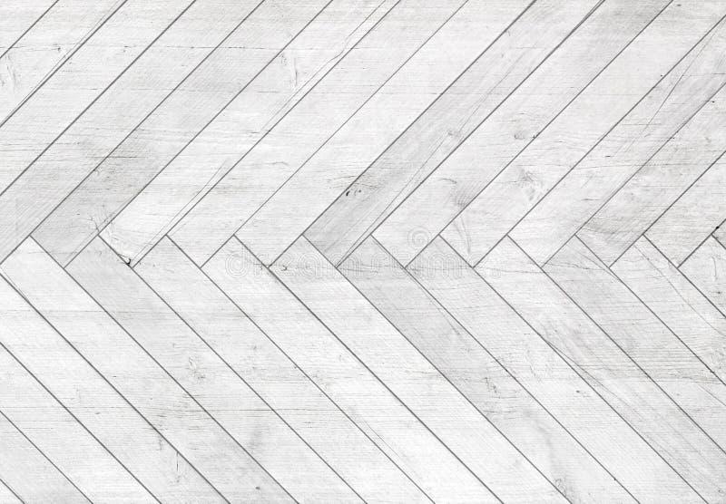 Arête de hareng en bois grise naturelle de parquet Texture en bois images libres de droits
