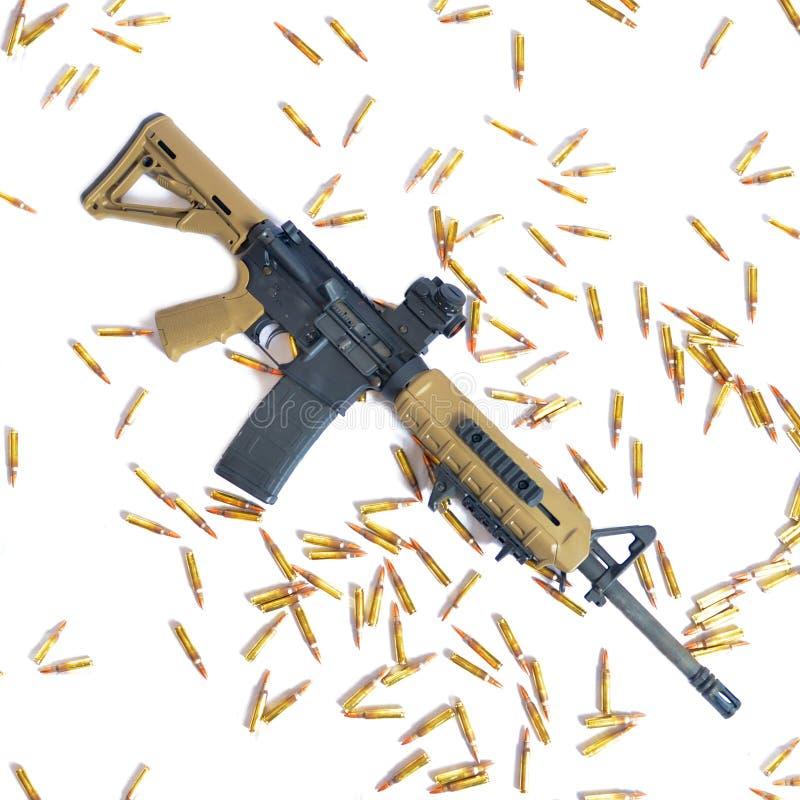 AR-15 стоковое изображение