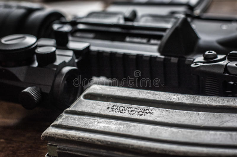 AR-15 fotografía de archivo