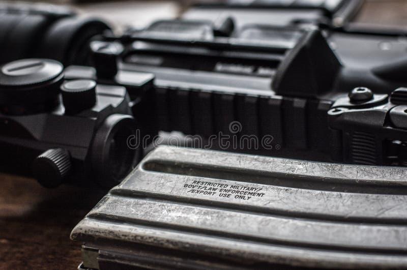 AR-15 fotografia stock