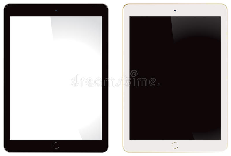Ar 2 do iPad de Apple ilustração stock