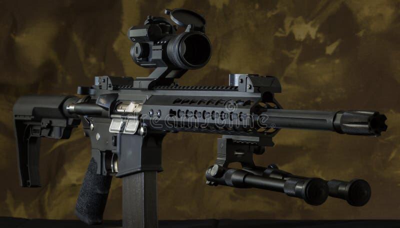 AR-15 geweer stock afbeelding