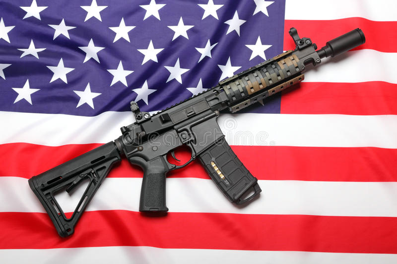 American weapon royalty free stock photography