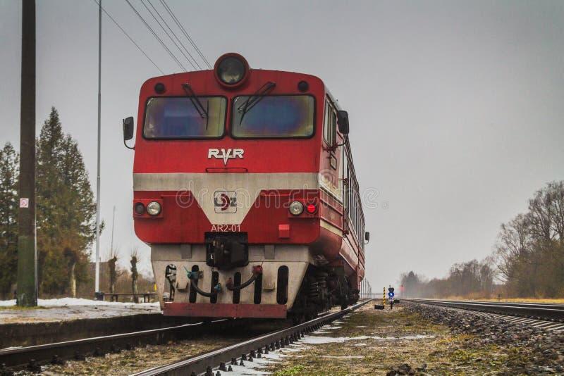 AR2 motrice σε Daudzeva στοκ εικόνα με δικαίωμα ελεύθερης χρήσης