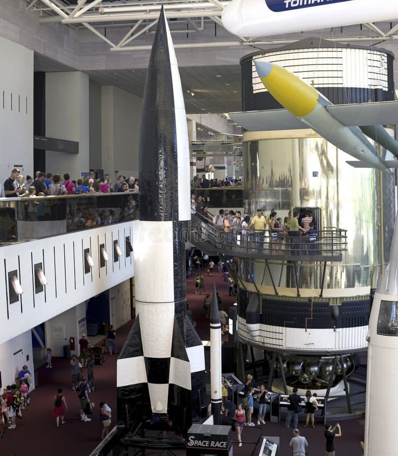 Ar nacional de Smithsonian e museu de espaço fotos de stock