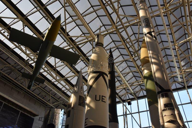 Ar nacional de Smithsonian e museu de espaço no Washington DC fotografia de stock royalty free