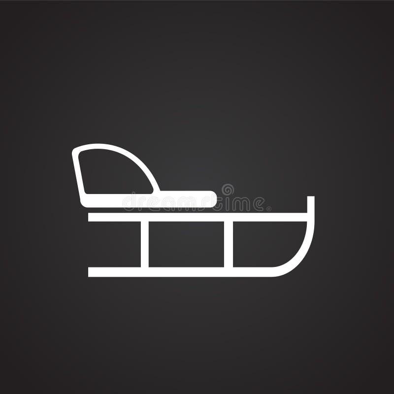 Ar op zwarte achtergrond royalty-vrije illustratie
