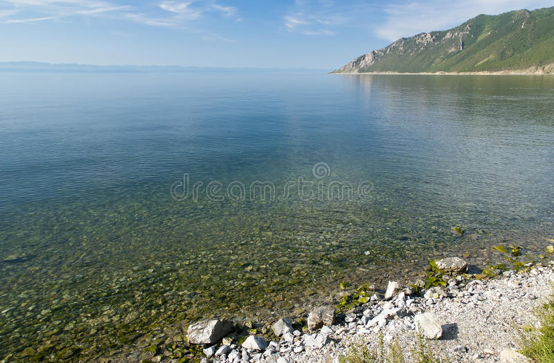 ar ranek Baikal fotografia stock