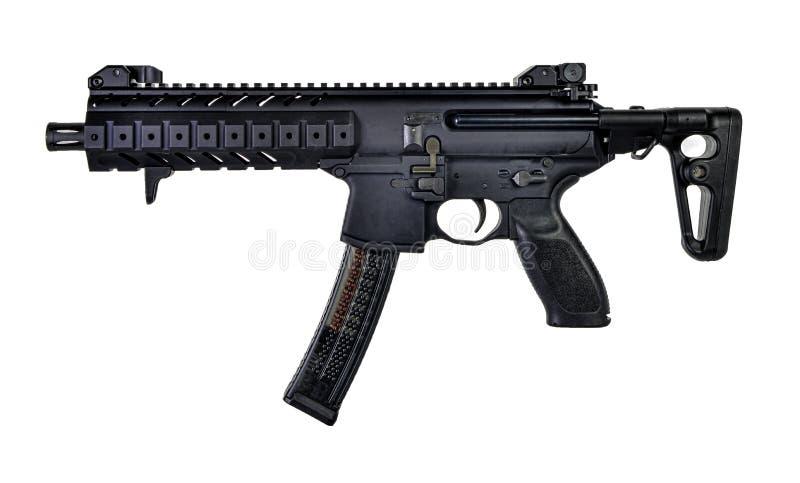 Ar-stil 9mm SBR royaltyfri bild